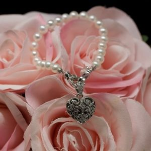 Tacori Pearl White Topaz Bracelet Limited Addition
